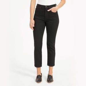 Everlane High Rise Cheeky Straight Ankle Jeans